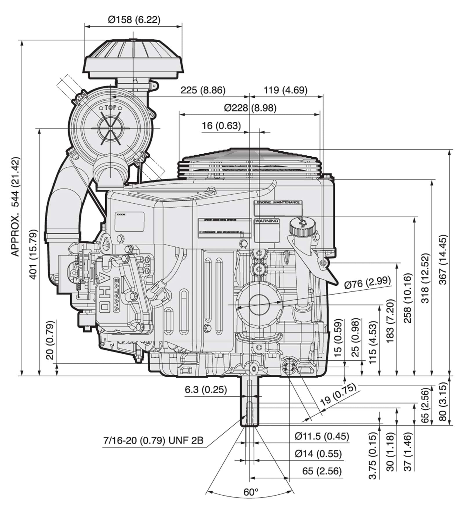 KAWASAKI FX751V FX801V FX850V 4 STROKE AIR COOLED V TWIN GAS ... on