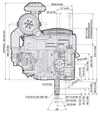 FX691V | Kawasaki Engines on