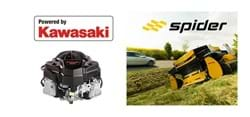 Kawasaki Engines and Spider look back on 15 years of remote mowing
